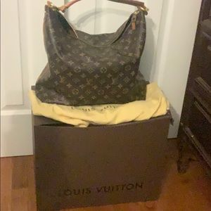 Louis Vuitton medium sized handbag